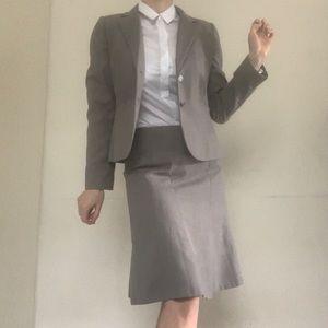 Calvin Klein grey vintage suit